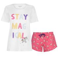 Pantaloni scurti Tricou Pijamale Rock and Rags and