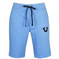 Pantaloni scurti True Religion Blu Logo