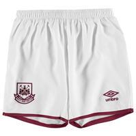 Pantaloni scurti Umbro West Ham FC Home 2015 2016 pentru baietei