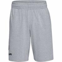 Pantaloni scurti Under Armor Sportstyle Sport Logo bumbac gri 1329300 035