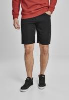 Pantaloni scurti vascoza Twill negru Urban Classics