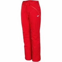 Pantaloni Ski 4F rosu X4Z18 SPDN152 62S femei