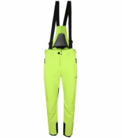 Pantaloni ski barbati Pro Countdown Lime Head
