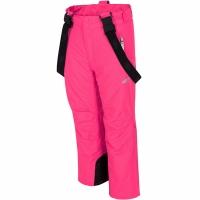 Pantaloni Ski For 4F Fuchsia HJZ19 JSPDN001 55S pentru fete