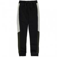 Pantaloni sport cu mansete Everlast cu imprimeu mare pentru baietei