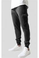 Pantaloni sport Fitted Cargo gri carbune Urban Classics