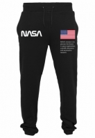Pantaloni sport NASA Heavy negru Mister Tee