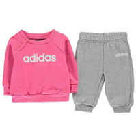 Pantaloni sport Pulovere Set bebelusi adidas and pentru fete