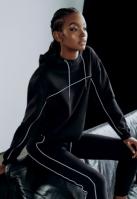 Pantaloni sport Reflective pentru Femei negru Urban Classics