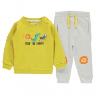 Pantaloni sport Set bebelusi Crafted Essentials 2 Piece pentru baieti