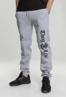 Pantaloni sport Thug Life Old English gri
