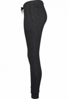 Pantaloni sport urban pentru Femei negru-alb Urban Classics