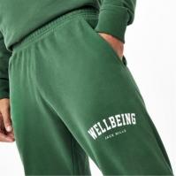 Pantaloni jogging Jack Wills Unisex Wellbeing inchis verde