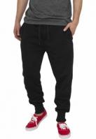 Pantaloni trening largi negru Urban Classics