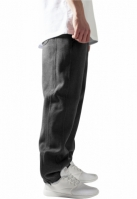 Pantaloni trening rapper gri carbune