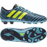 Ghete fotbal adidas NEMEZIZ 17.4 FxG S82458 copii
