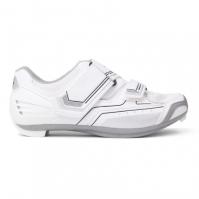 Pantofi ciclism Muddyfox RBS100 pentru Femei alb argintiu