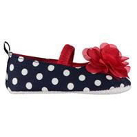 Crafted Flower Pre Walker Shoes pentru fete pentru Bebelusi