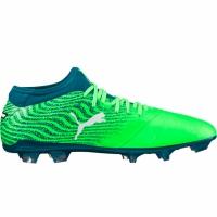Ghete de fotbal Puma ONE 18.2 FG verde Gecko-Puma alb 104533 04 barbati