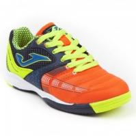 Pantofi fotbal Dibling Jr copii Joma 816 bleumarin-orange Indoor