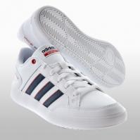 Pantofi sport albi piele adidas Cf All Court Barbati