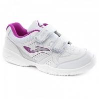 Joma Wschool 819 alb-purple copii