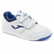 Pantofi sport copii Wotto Jr Joma 804 alb-royal