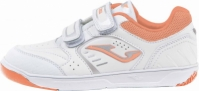 Pantofi sport copii Wotto Jr Joma 807 alb-roz