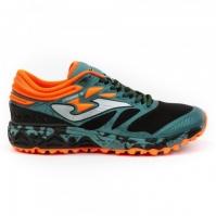 Pantofi sport Joma 2015 verde-portocaliu barbati