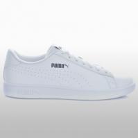 Pantofi sport albi Puma Smash V2 L Perf barbati