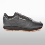 Pantofi sport piele naturala Reebok Cl Lthr negru 49800 Barbati