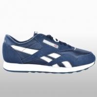 Pantofi sport piele bleumarin Reebok Cl Nylon Barbati