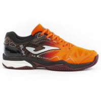 Pantofi tenis barbat Tslam Joma 908 portocaliu-negru zgura