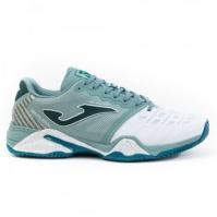 Pantofi tenis Joma 2015 verde-alb toate suprafetele