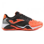 Pantofi tenis Joma 708 negru-orange toate suprafetele