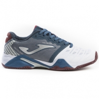 Pantofi tenis Joma 902 alb-bleumarin toate suprafetele