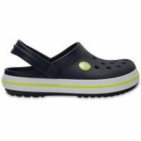 Papuci cauciuc Crocs For Crocband K bleumarin verde 204537 42K pentru Copii