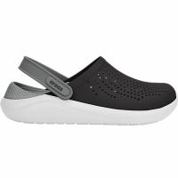 Papuci cauciuc Crocs Literide negru gri 204592 05M barbati