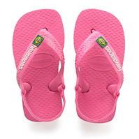 Papuci de plaja Havaianas Brasil Logo pentru Bebelusi