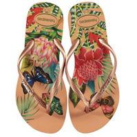 Papuci de plaja Havaianas Slim Tropical