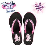 Papuci de plaja Skechers Twinkle Toes pentru fetite