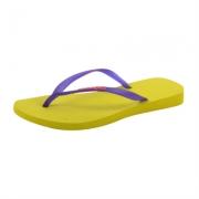 Papuci de plaja Unknown Slim Logo pentru Femei