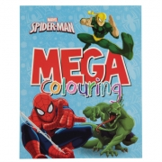 Paragon Spiderman Mega Colouring Book