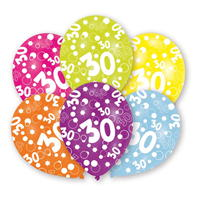 Partymor Balloons . of 6
