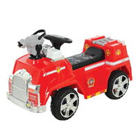 Paw Patrol Bubble Blowing Marshalls Fire Truck
