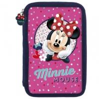 Penar 2 Compartimente Complet Utilat Happy Minnie Mouse