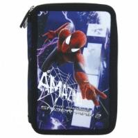 Penar Scoala Echipat Dublu(2 Compartimente) Baieti Amazin Spiderman