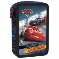Penar Scoala Echipat Dublu ( 2 Compartimente) Baieti Disney Cars