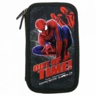 Penar Scoala Echipat Dublu(2 Compartimente) Baieti Out Of Time Spiderman