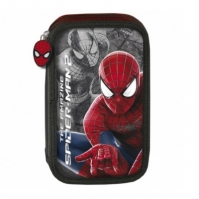 Penar Scoala Echipat Dublu(2 Compartimente) Baieti Spiderman